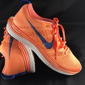 the best attitude 30e50 89113 Nike · New Nike Flyknit Lunar 1 coral pink blue women s. NWT.  125  999.  Size  9 · Nike